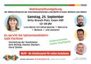 14.09.21 - Große Abschlusskundgebung der Wählerinitiativen der Internationalistischen Liste/MLPD in Essen, Mülheim und Velbert