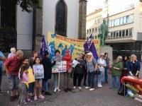 Bericht von der Aktion am Antikriegstag in Essen