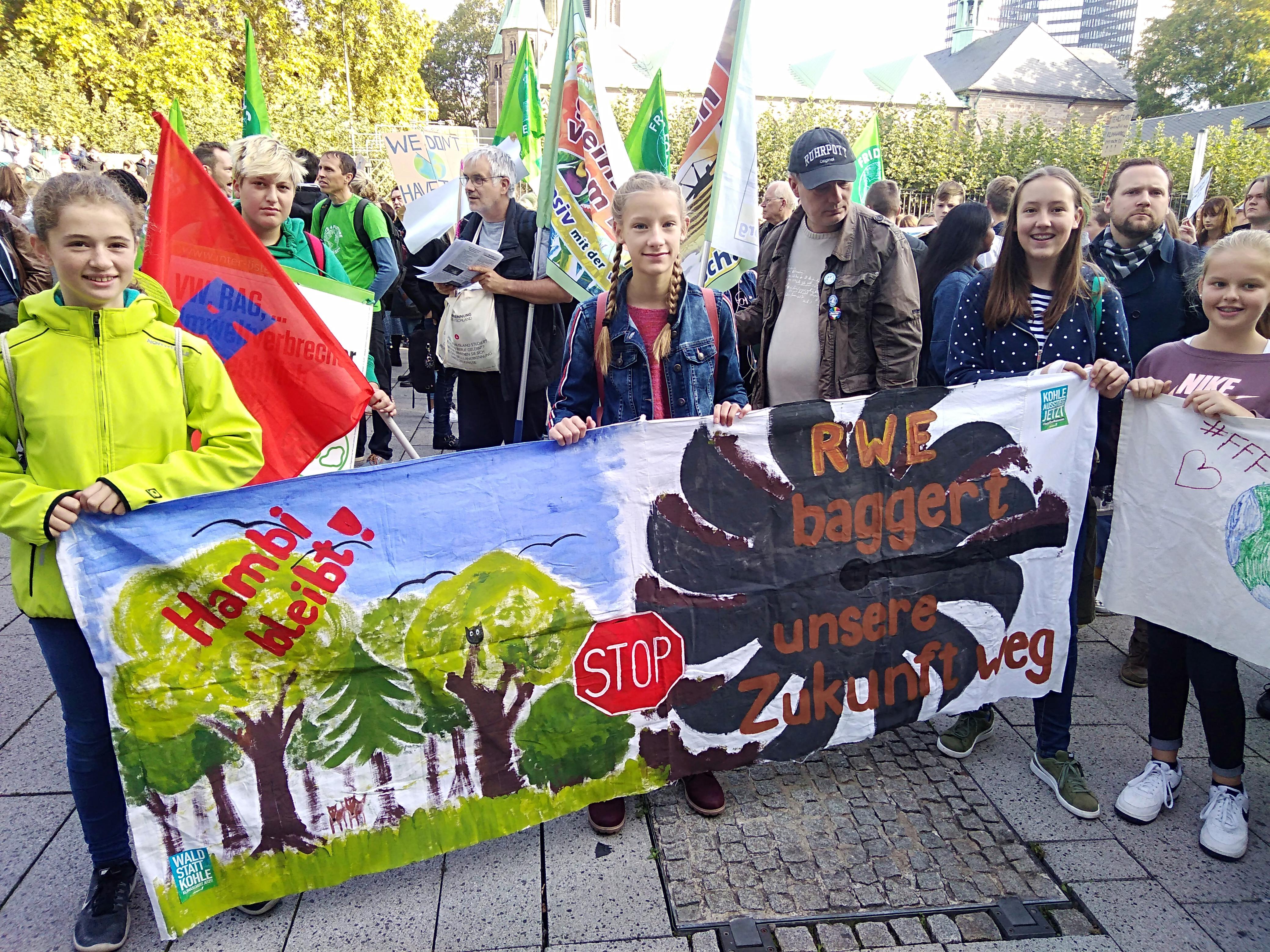 Berichte der Friday for Future Demos vom 20.09.19 in Essen und Mülheim