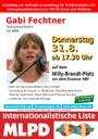 Einladung zur Aufktaktveranstaltung der Wählerinitiative der Internationalistischen Liste /MLPD Essen und Mülheim