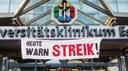 Erklärung der MLPD-Betriebsgruppe Uniklinikum Essen - Ja zum unbefristeten Streik und offensiven Kampf! Nein zur Spaltung der Belegschaft!