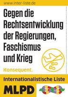Essen, 01.09.21 - Antikriegstag  Kämpferische antifaschistische Kundgebung in Essen