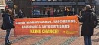 """Essen, 30. März 2021: Prozess gegen """"Steeler Junge"""": Erfolg trotz Freispruch """"zweiter Klasse"""" für Faschisten"""