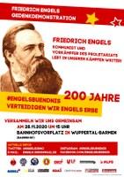 Friedrich Engels Gedenkdemonstration
