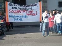 Internationalistisches Bündnis und Montagsdemo Essen - gemeinsam: Erfolgreicher Protest gegen den Rechtsruck der Regierung