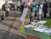 Kämpferische Aktion in Essen-Kray
