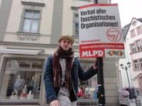 Korrespondenz aus Mülheim: Ilmenau/Thüringen - Die ersten Plakate schmücken die Fußgängerzone!