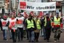MLPD Essen - Grußbotschaft zum Warnstreik an Ver.di