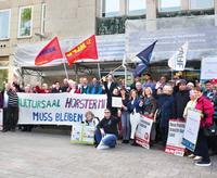 NEWSLETTER zum Kampf gegen die Nutzungsuntersagung des Kultursaals in der Horster Mitte
