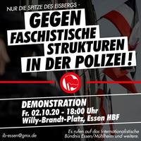 """""""Nur die Spitze des Eisbergs"""" - Demo gegen faschistische Strukturen bei der Polizei"""