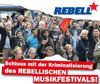 Polizeichef Löther: Zensur und Unterdrückung gegen Rebellisches Musikfestival Wir erklären: JETZT ERST RECHT!