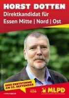 Solidarität mit Horst Dotten!