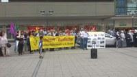 Solidaritätskundgebung gegen den IS-Terror in Kobane