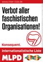 Wählerinitiative der Internationalistischen Liste/ MLPD Essen/Mülheim fordert Verbot eines NPD-Aufmarsches am 1. Mai